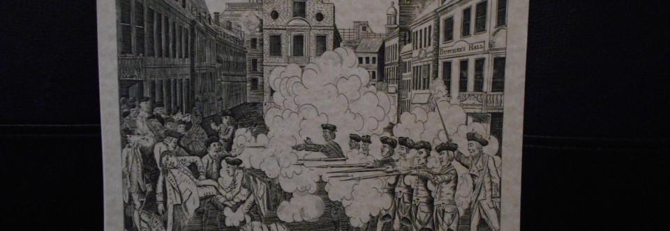 245th Anniversary of Boston Massacre