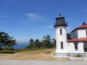 Lighthouse in Washington state